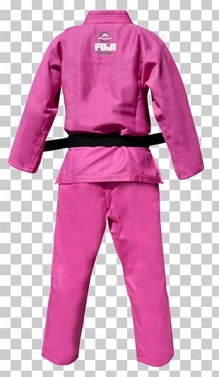 Karate Gi Brazilian Jiu-jitsu Gi Judogi Pink PNG