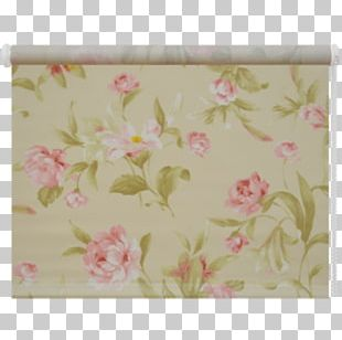 Floral Design Textile Pink M PNG