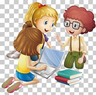 Student Cartoon Learning Education PNG