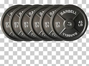 Barbell Weight Plate Dumbbell CrossFit Weight Training PNG