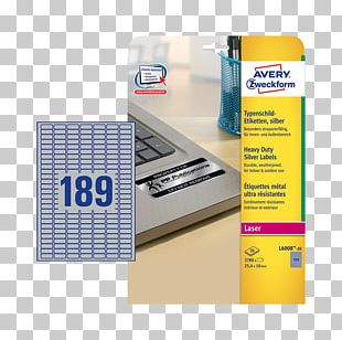 Paper Label Avery Zweckform Avery Dennison Name Plates & Tags PNG