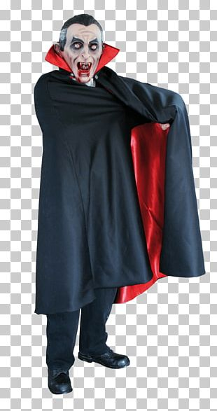 Count Dracula Vampire Disguise Costume PNG