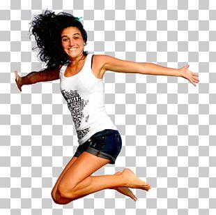 Woman Jumping PNG