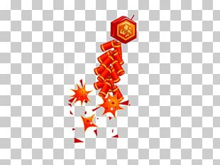 Firecracker Chinese New Year PNG