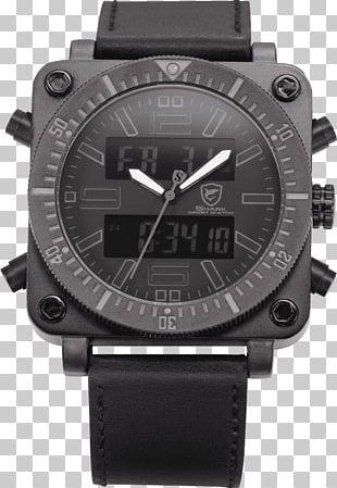 SHARK Sport Watch Quartz Clock Mohan Hardware Watch Strap PNG