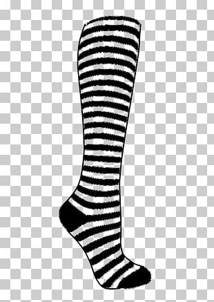 Amazon.com Sock Knee Highs White Clothing PNG