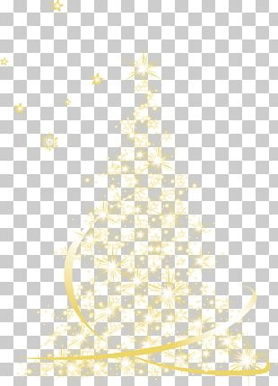Christmas Tree Pattern PNG