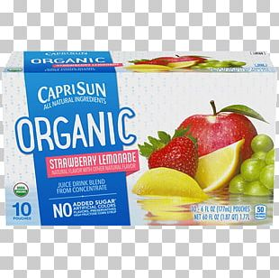 Strawberry Juice Lemonade Organic Food Punch PNG