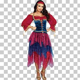 Halloween Costume Clothing Romani People Crystal Ball PNG