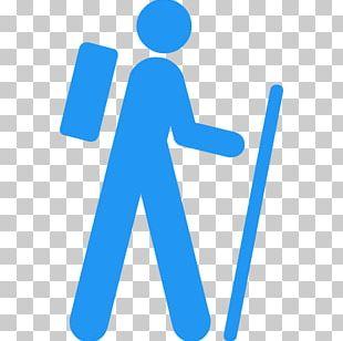 Hiking Walking Computer Icons Trail Trekking PNG