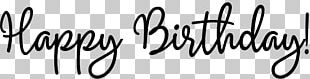 Birthday Greeting & Note Cards Wish Lettering Font PNG