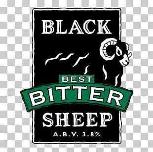 Black Sheep Brewery Cask Ale Bitter Beer PNG