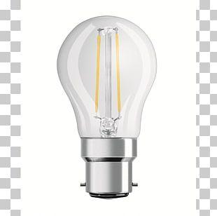 Incandescent Light Bulb Bayonet Mount LED Lamp LED Filament PNG