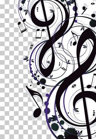 Musical Note Illustration PNG