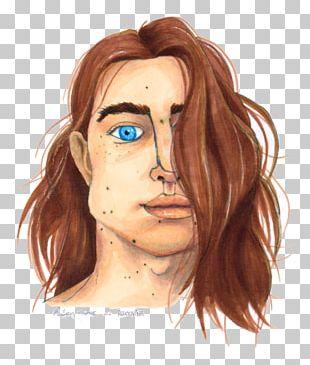 Nose Cheek Eyebrow Hair Coloring Chin PNG