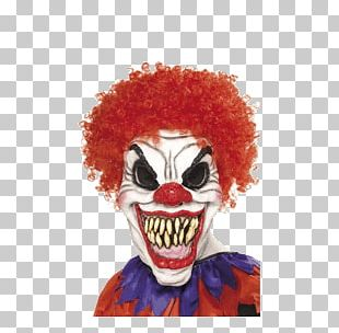 Scary Clown Halloween PNG