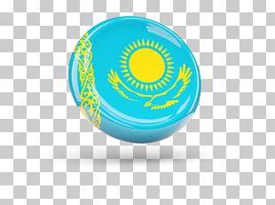 Flag Of Kazakhstan Stock Photography PNG