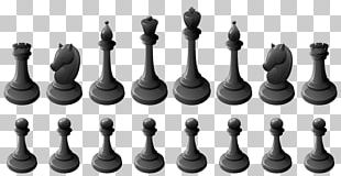 Chess Piece Chessboard White And Black In Chess PNG