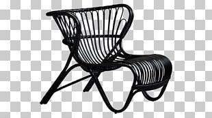 Eames Lounge Chair Rattan Furniture Wicker PNG