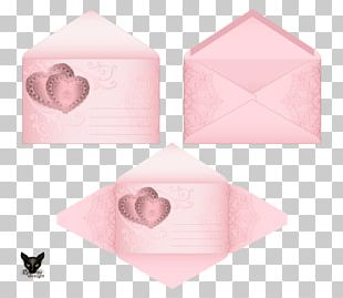 Paper Envelope Art PNG