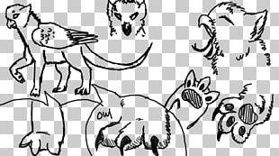 Canidae Cat Homo Sapiens Line Art Sketch PNG