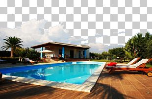 Swimming Pool High-definition Television Interior Design Services 1080p PNG