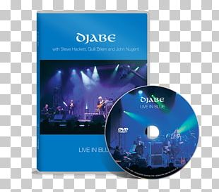 Djabe Live In Blue Down And Up DVD Blu-ray Disc PNG