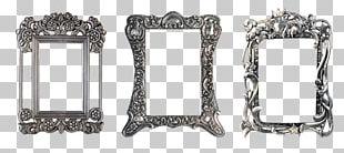 Frames Metal Silver PNG