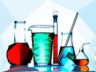 Science Laboratory Glassware Echipament De Laborator Experiment PNG
