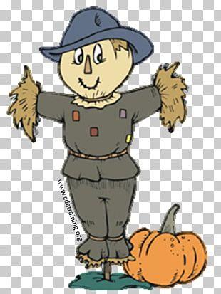Kitchen Garden Scarecrow PNG