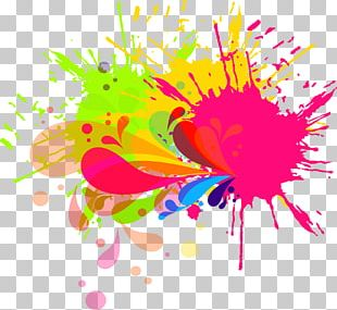 Ink Brush Watercolor Painting PNG