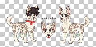 Cat Dog Breed Paw Line Art PNG