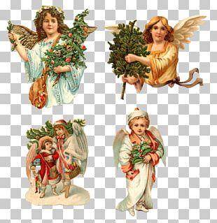Cherub Angel Christmas Easter Bunny PNG