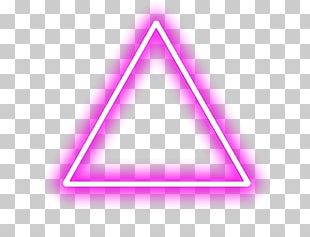 Triangle Android Neon PNG