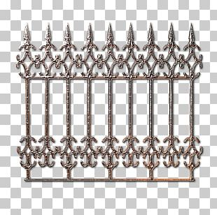 Wrought Iron Fence Metal PNG
