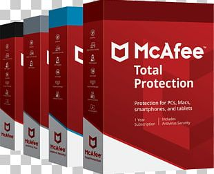 Mcafee Total Protection Antivirus Software Computer Security Software Computer Software PNG