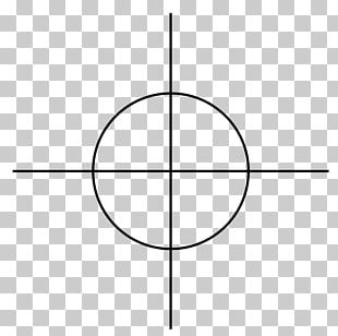 Circle Angle Point Line Art Font PNG
