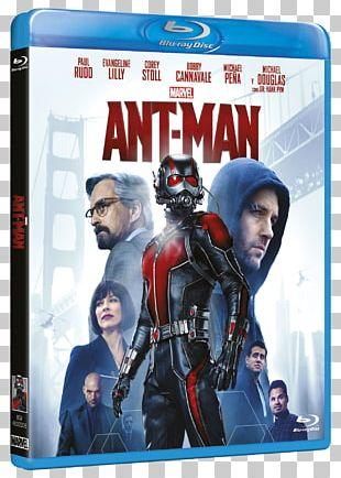 Ant-Man Blu-ray Disc Hank Pym Paul Rudd DVD PNG