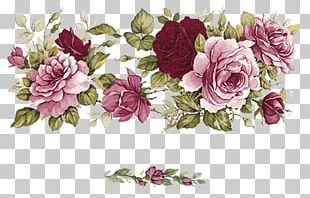 Cut Flowers Floral Design Paper Garden Roses PNG