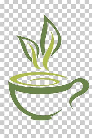 Green Tea Coffee White Tea Teacup PNG