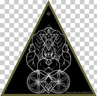 Sacred Geometry Symbol Overlapping Circles Grid Hexagon PNG