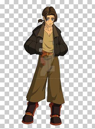 Jim Hawkins Captain Flint Character Concept Art PNG