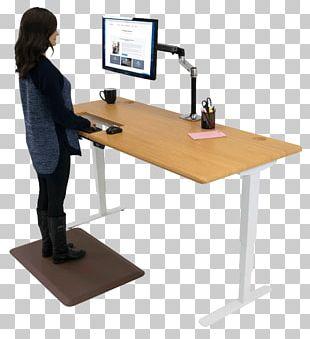 Standing Desk Standing Desk Treadmill Desk Varidesk PNG