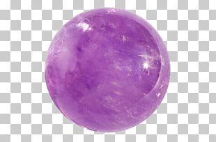 Crystal Healing Quartz Amethyst Crystal Ball PNG