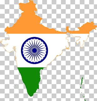 Flag Of India Map National Flag PNG