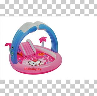 Hello Kitty Swimming Pool Play Child Inflatable PNG
