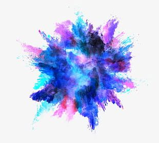 Color Splash Effect PNG