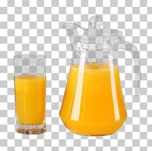 Orange Juice Jug Orange Drink Pitcher PNG