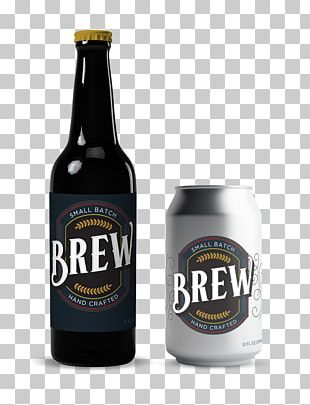 Stout Beer Bottle Glass Bottle PNG
