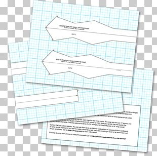 Paper Bow Tie Necktie Sewing Pattern PNG